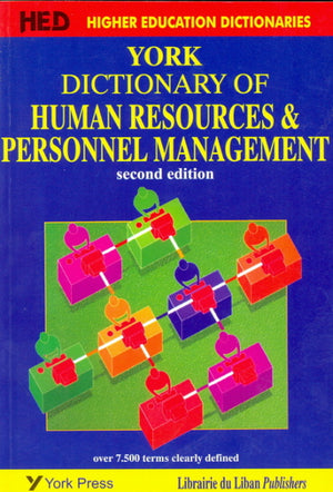York Dictionary of Human Resources & Personnel Mgt. 2 / E (New impression)