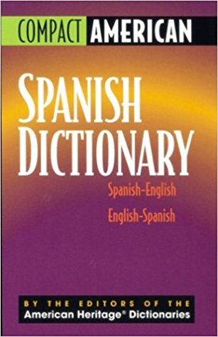 Compact American Spanish Dictionary Spanish-english English-spanish