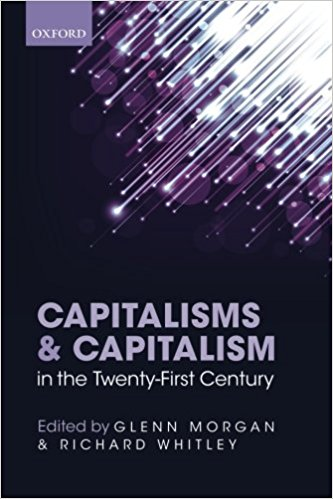 CAPITALISMS & CAPITALISM IN THE TWENTY-FIRST CENTURY