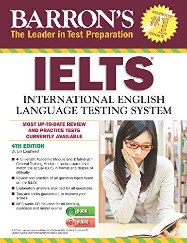 BARRON'S IELTS WITH CD 2016