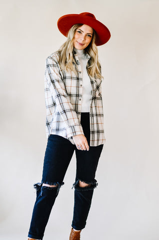 Stella Plaid Button Down