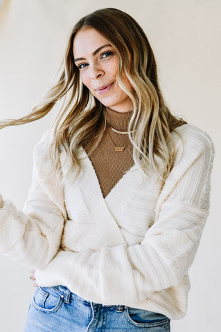 Heather Knit Sweater