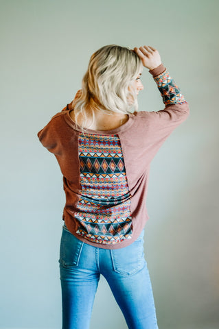 Tialoc Aztec Top