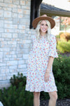 Kaylee Fall Floral Dress