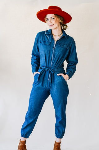 Jenna Denim Jumpsuit