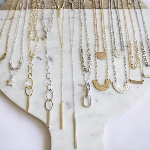 Layered Pendant Necklaces