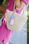 Too Cute Handbag with Tassel