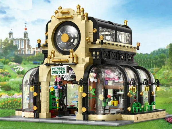 City Streetview Building Botanical Gardens Building Blocks & Lights Creator Toys