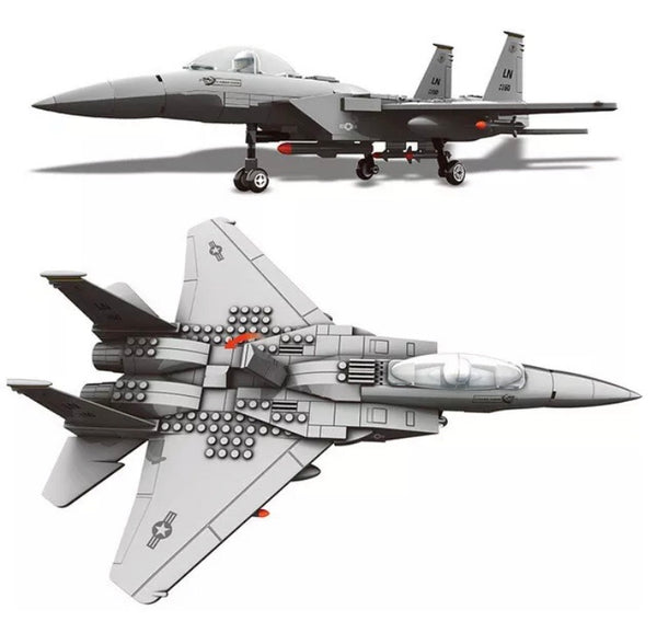 F-15 Eagle Fighter Model Plane-General Jim's Toys & Bricks