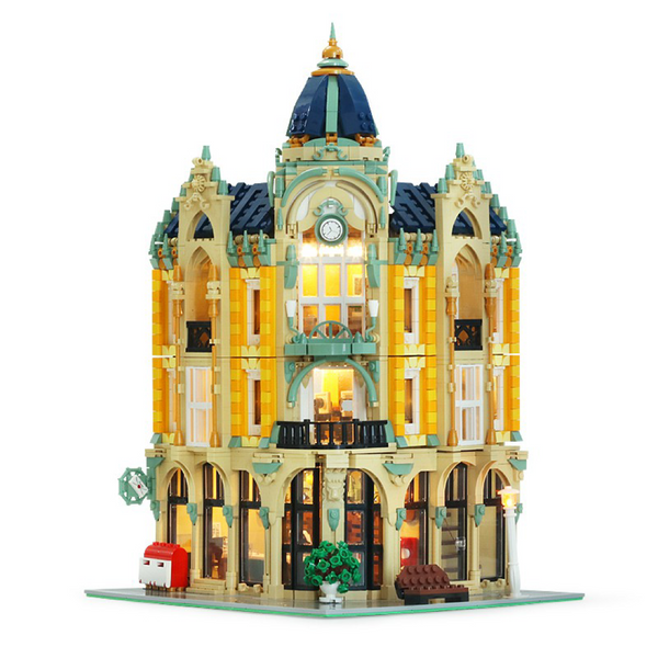 4030 Piece City Street Creator Corner Post Office Building Blocks Set