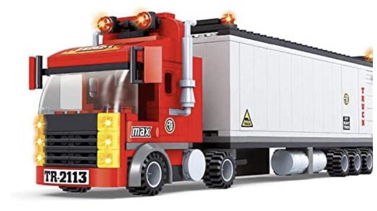 Ausini 25609 Big Rig Truck - Building Blocks Set-General Jim's Toys & Bricks