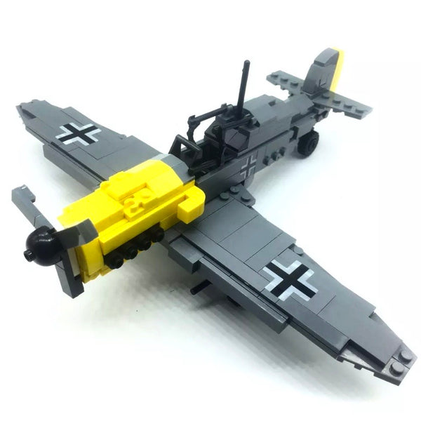 WW2 BF-109 Aircraft Building Bricks Toy Set-General Jim's Toys & Bricks