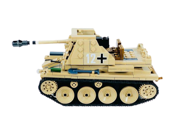 WW2 German Tank Destroyer SD.KFZ.138 Marder III-General Jim's Toys & Bricks