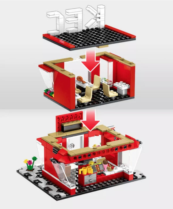 282 Piece City Street Fast Food Restaurant