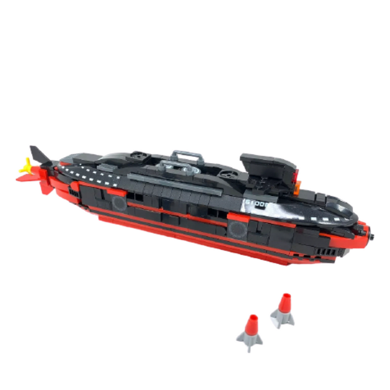 395 Pieces Military Army Nuclear Submarine Building Blocks Toy