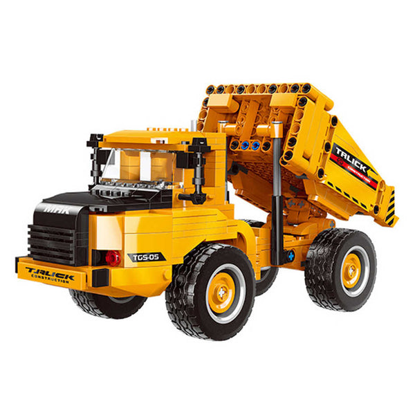 535 pc Heavy Dump Truck Toy Set - Building Blocks Toy Set-General Jim's Toys & Bricks