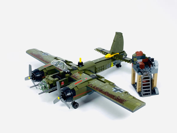 Iron Empire WW2 Air Bomber JU-88 Plane-General Jim's Toys & Bricks