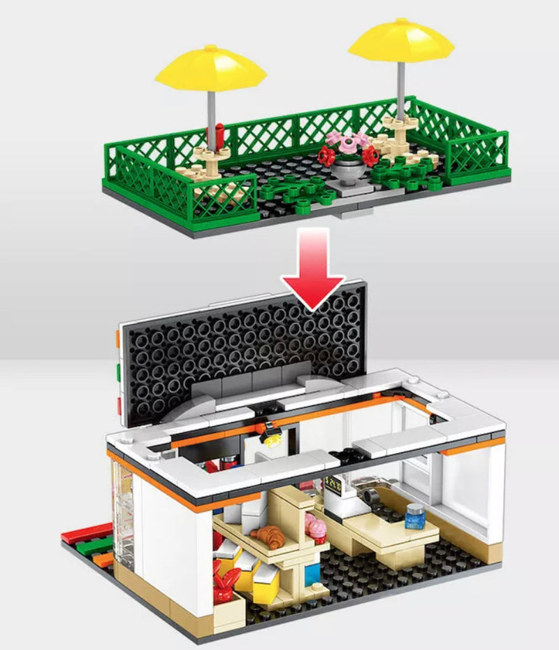 320 Piece Creator Street Convenience Store Gas Station