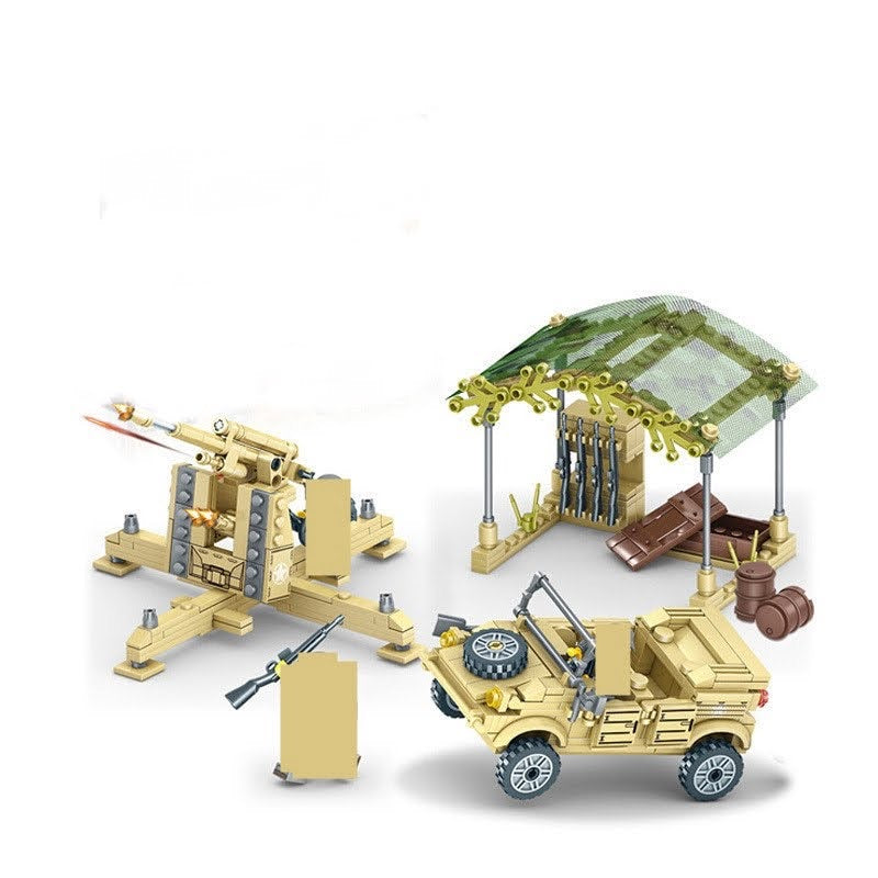 Military Vehicle & Accessories Set