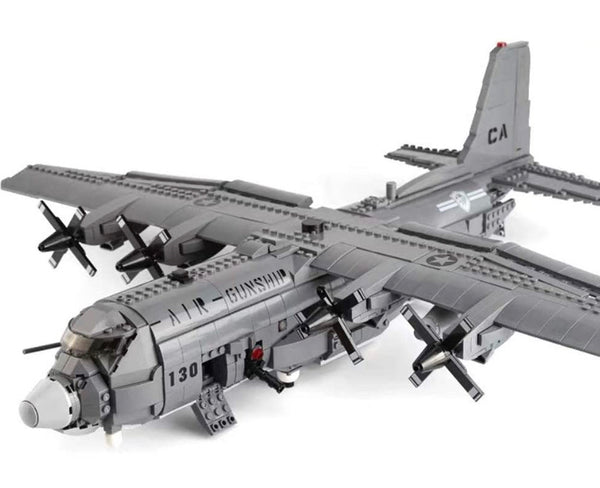 Lockheed AC-130 Hercules Gunship Plane-General Jim's Toys & Bricks