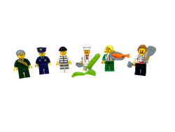 Custom City Theme Minifigures® Set