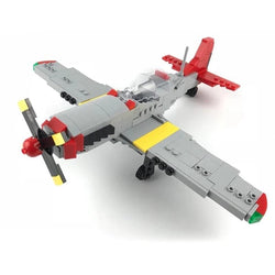 WW2 Model Kit Plane Fighter Jet P-51D-General Jim's Toys & Bricks