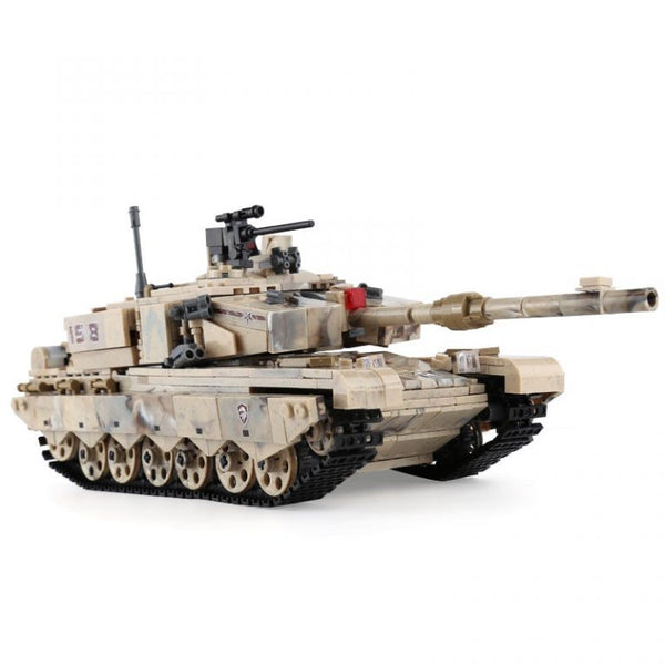 Military 99 Main Battle Tank Model Building Blocks Brick Set-General Jim's Toys & Bricks