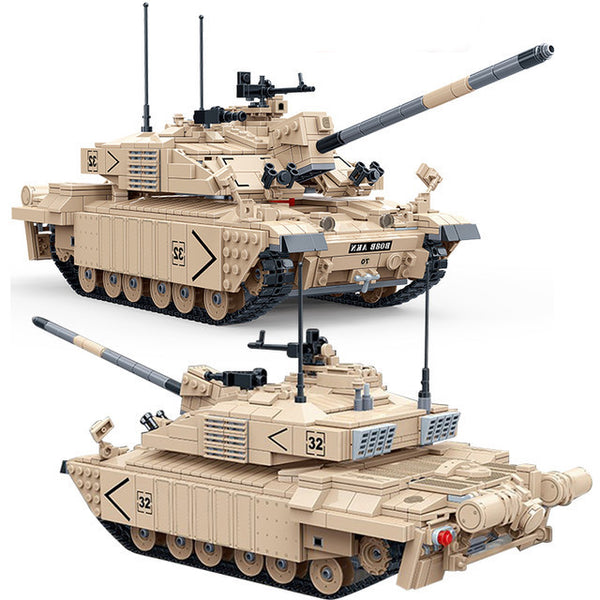 Army Tank (British Challenger II Main Battle) Tank-General Jim's Toys & Bricks