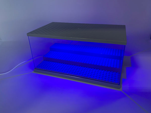 Lighted Toy Figure Display Case