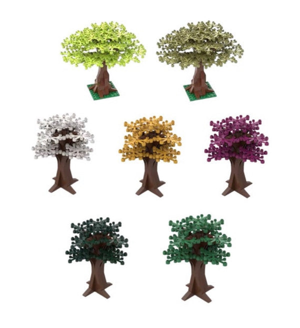 Tree Building Blocks Decorations-General Jim's Toys & Bricks