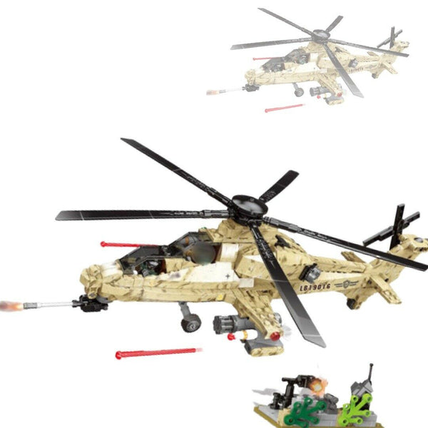 German World War II WZ10 Model Helicopter-General Jim's Toys & Bricks