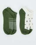 Image of product: Chaussettes de cheville 2-Bottle