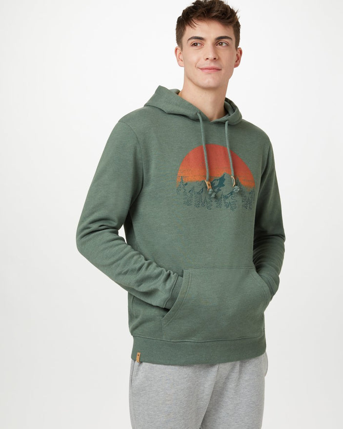Image of product: Sweat à capuche classique Vintage Sunset homme