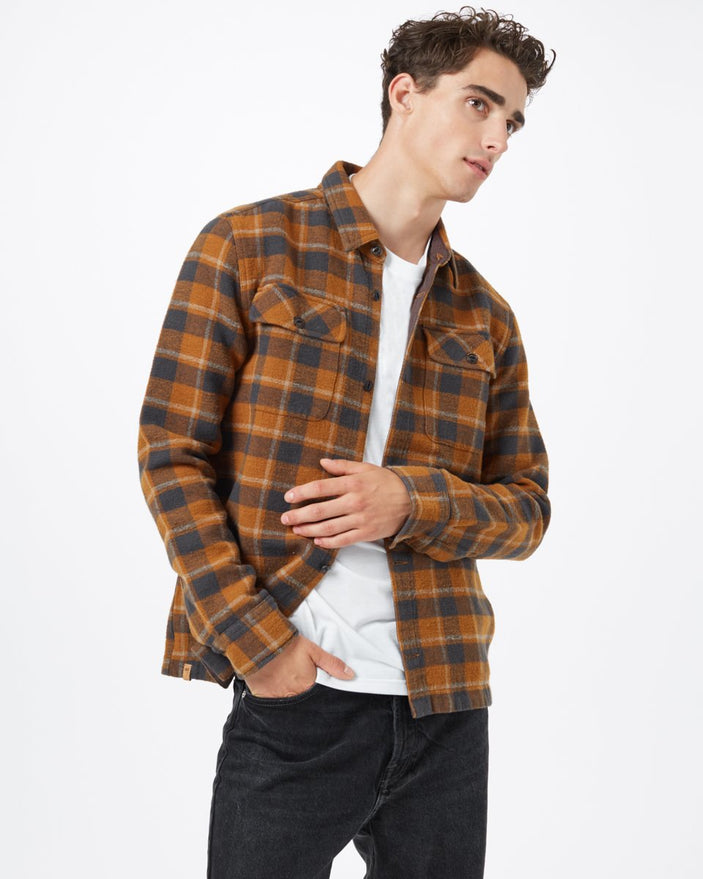 RUBBER BROWN RETRO PLAID_gallery