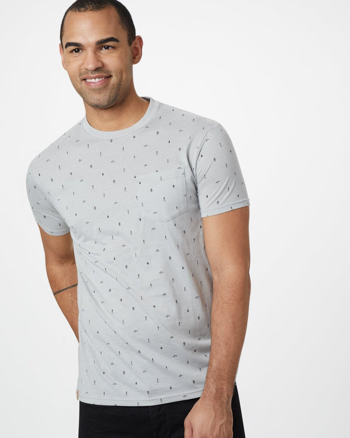 Image of product: T-shirt classique Tree Print homme