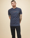 Image of product: T-shirt Wordmark Mountain Peru homme