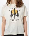 Image of product: T-shirt loose Find Your Wild femme
