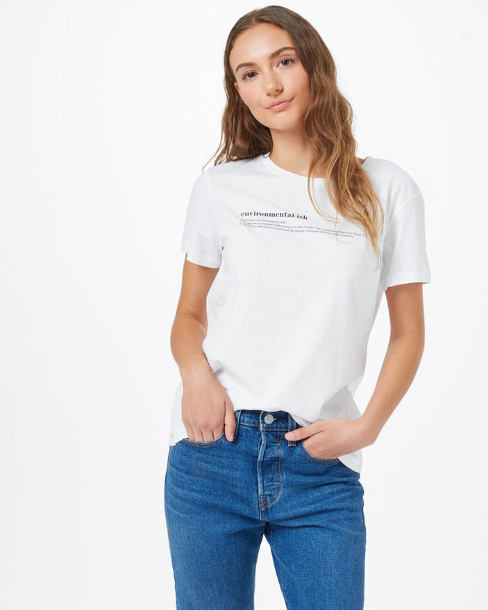 Image of product: T-shirt ample Environmental-ish pour femmes