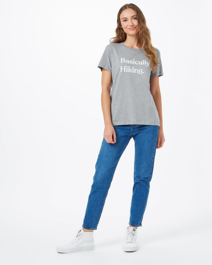 Image of product: T-shirt ample Basically Hiking pour femmes
