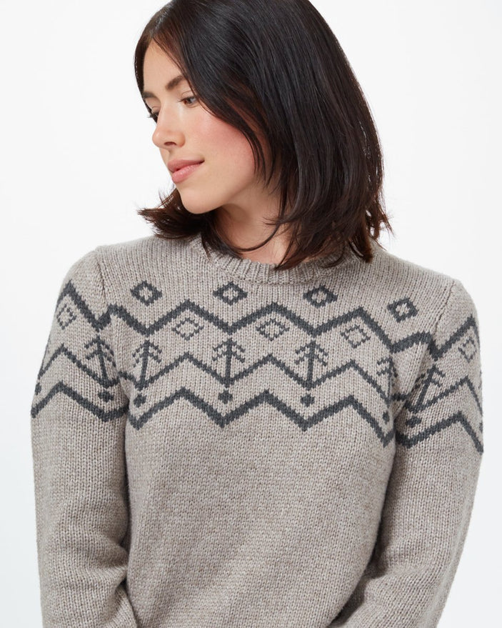 Image of product: Pull intarsia en laine Highline