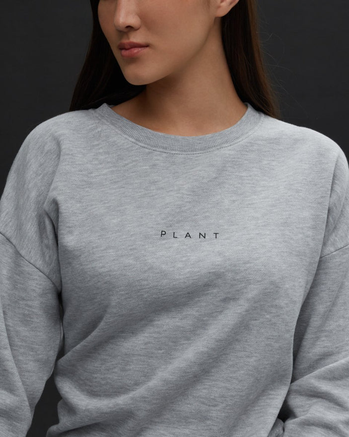 Image of product: Sweat oversize à col rond Plant