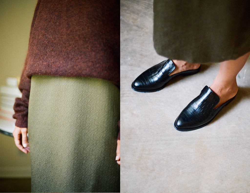 Kick Pleat Lookbook 4 — Kate LeSueur