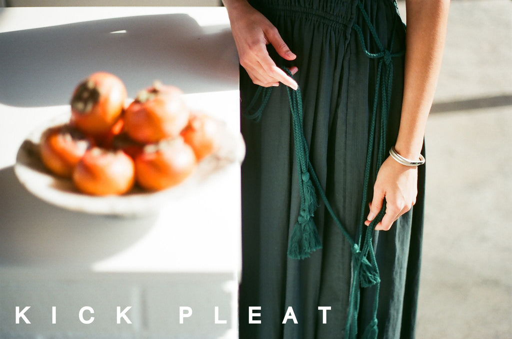 Kick Pleat - Resort 2016 Lookbook