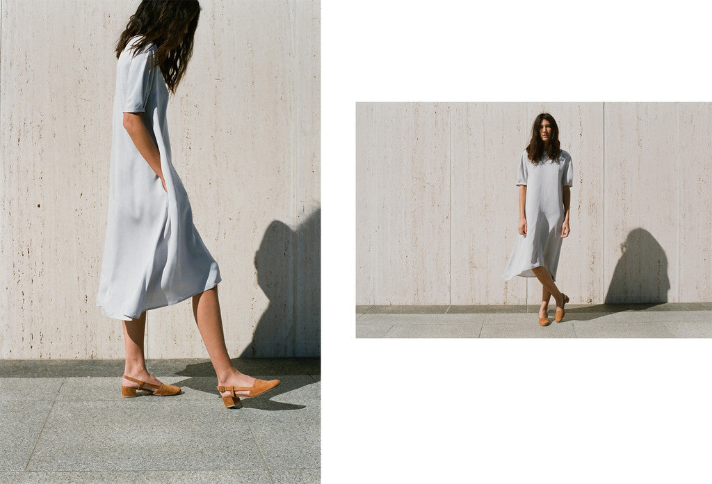 Kate LeSueur — Kick Pleat Winter Lookbook V