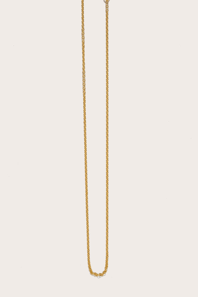 Azlee - Thin Cable Chain, Gold