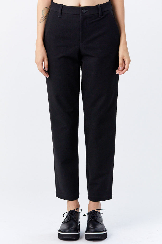 132 5. by Issey Miyake - Stretch Bottoms, Black