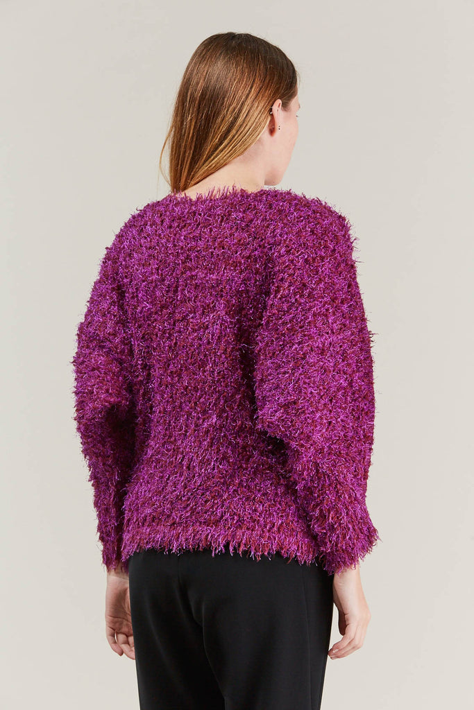 Fuzzy Sweater, Pink by Pleats Please by Issey Miyake @ Kick Pleat - 5