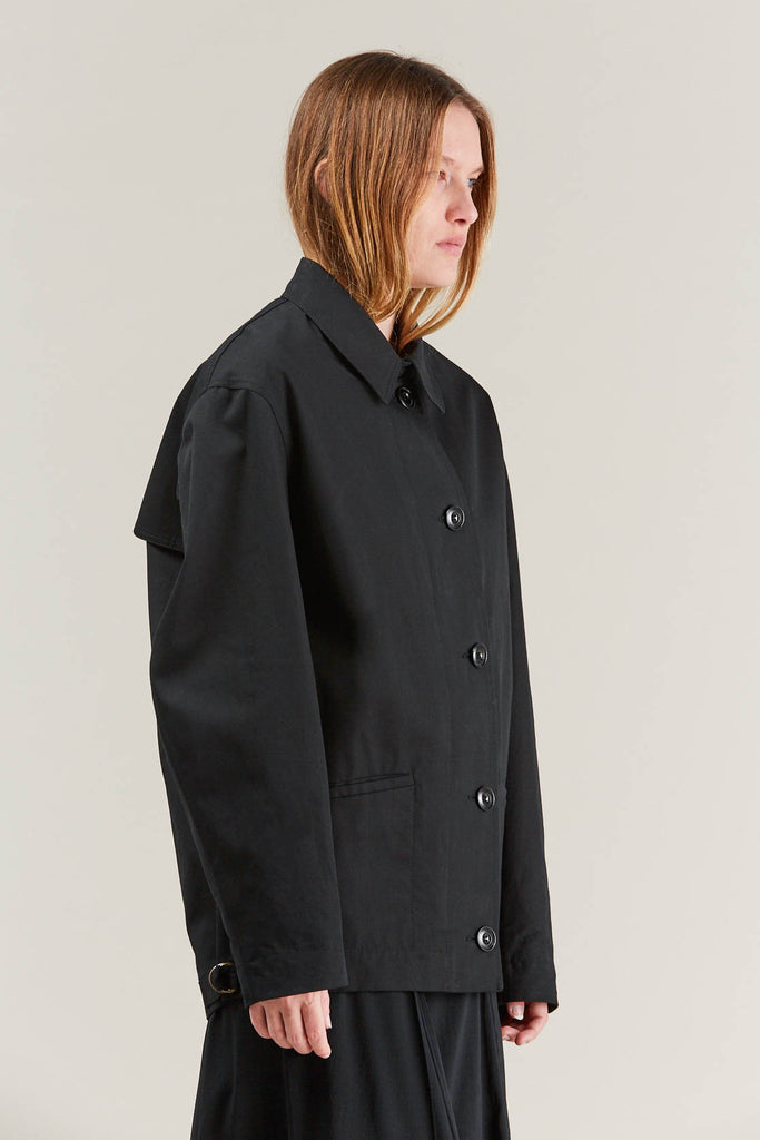 Short parka, Black by Lemaire @ Kick Pleat - 5