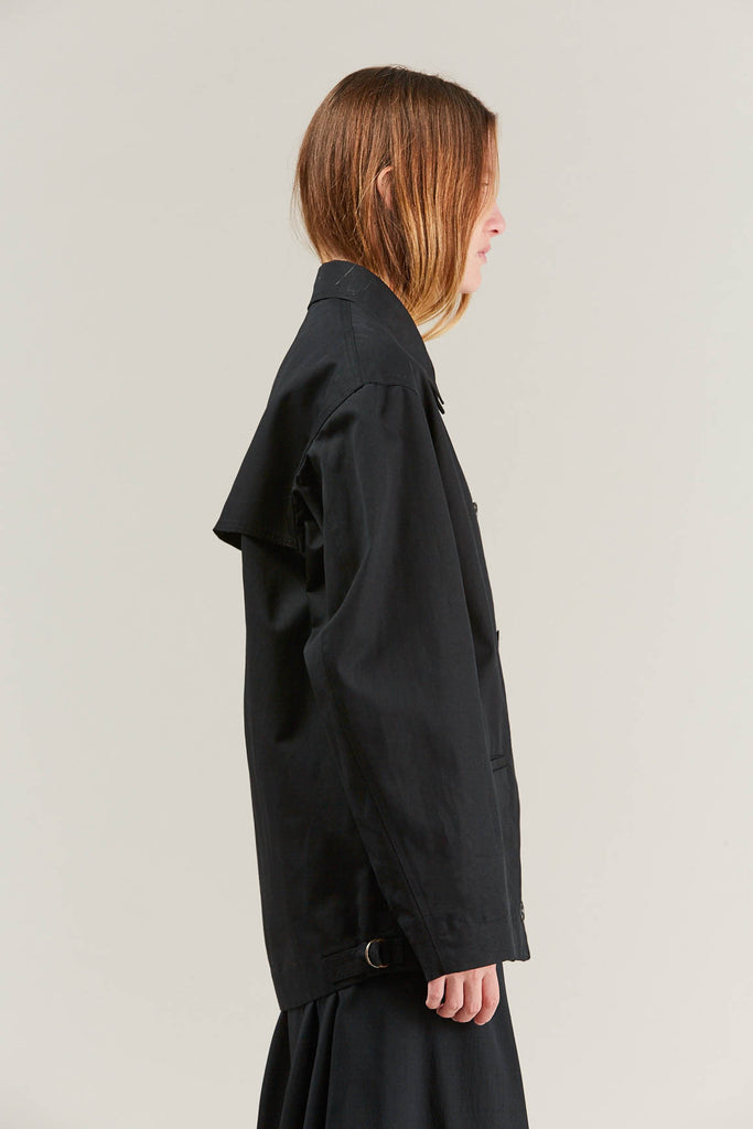 Short parka, Black by Lemaire @ Kick Pleat - 6