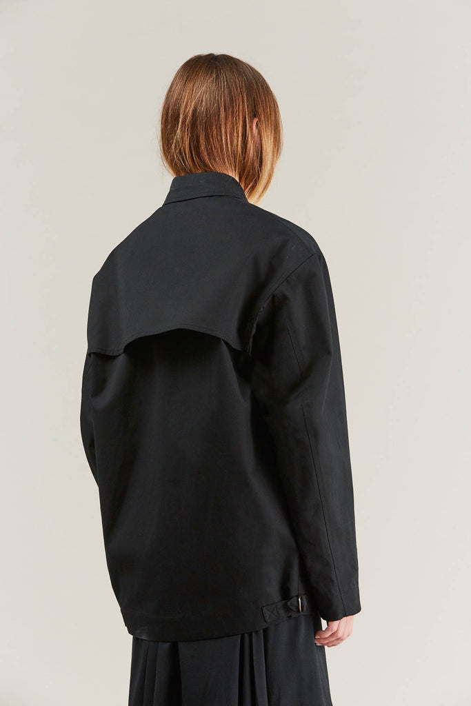 Short parka, Black by Lemaire @ Kick Pleat - 7